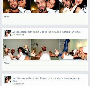 Alex Shekherdemian Armenia Fun Time Facebook Snapshot